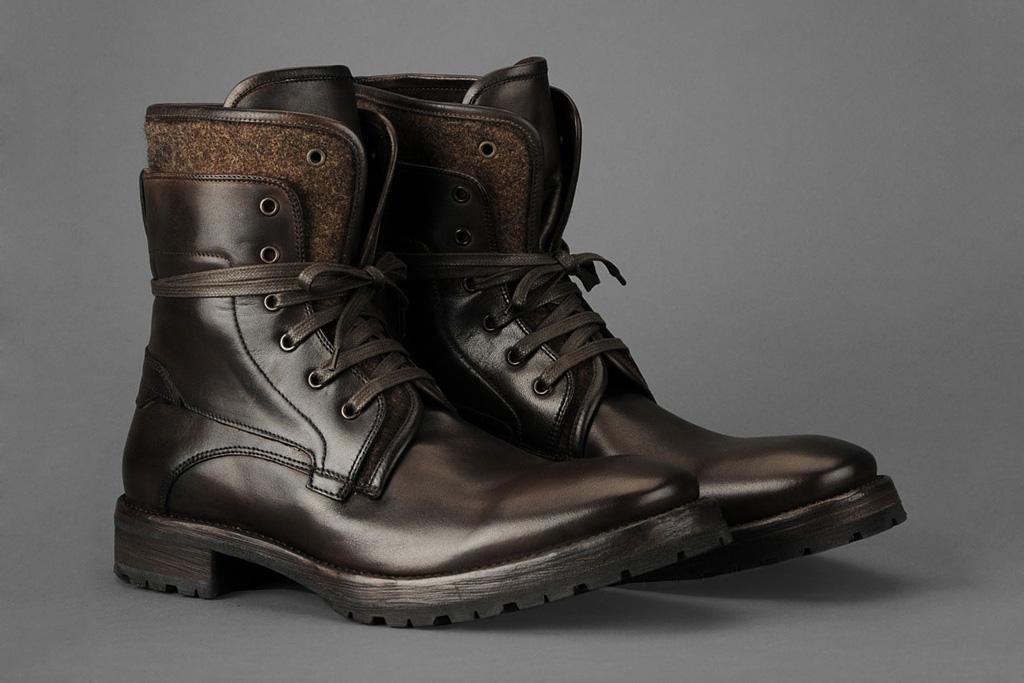 John Varvatos Tahoe Felt Work Boot