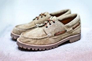 Junya Watanabe COMME des GARCONS MAN Suede Boat Shoe