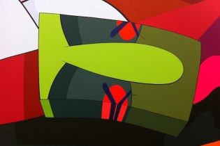 "KAWS ""Hold The Line"" Exhibition @ Honor Fraser Further Preview"