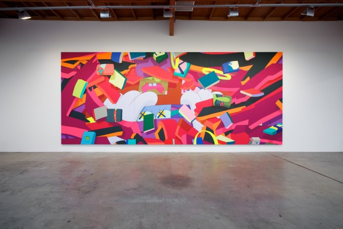 "KAWS ""Hold The Line"" Exhibition @ Honor Fraser Recap"