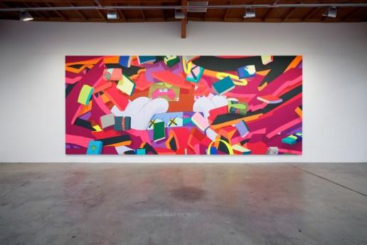 "KAWS ""Hold The Line"" Exhibition @ Honor Fraser Recap"