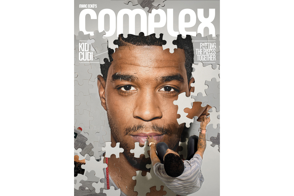 Kid Cudi x Complex October/November 2011 Issue Cover