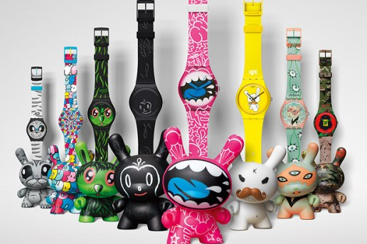 Kidrobot x Swatch Feature and Interview