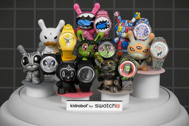 Kidrobot x Swatch Stop Motion Video