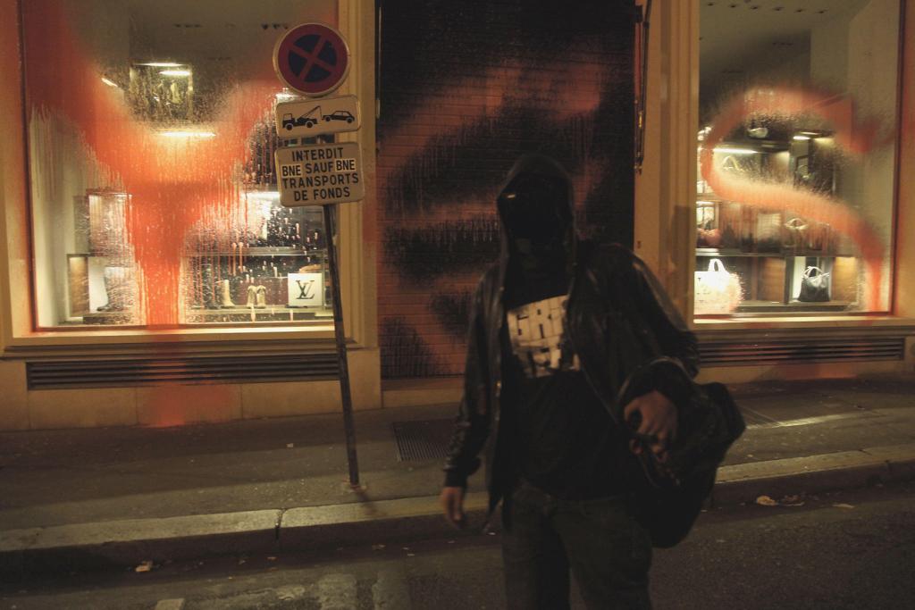 Kidult Vandalizes Louis Vuitton Paris