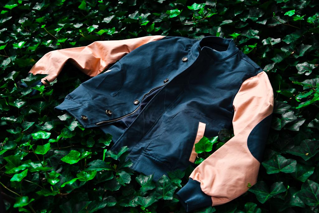Kith x Shades of Grey by Micah Cohen Baseball Jacket