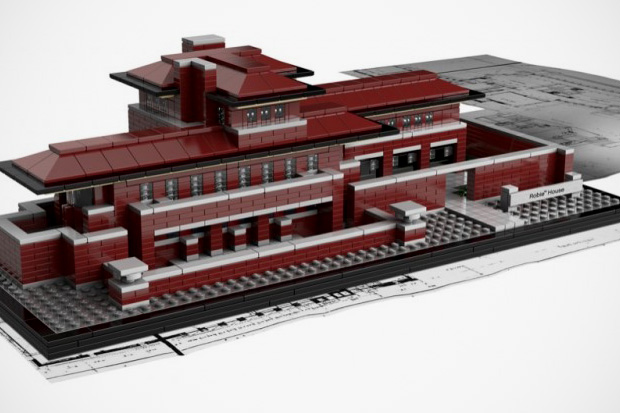 LEGO Architecture Frank Lloyd Wright's Robie House