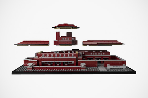 lego architecture frank lloyd wrights robie house
