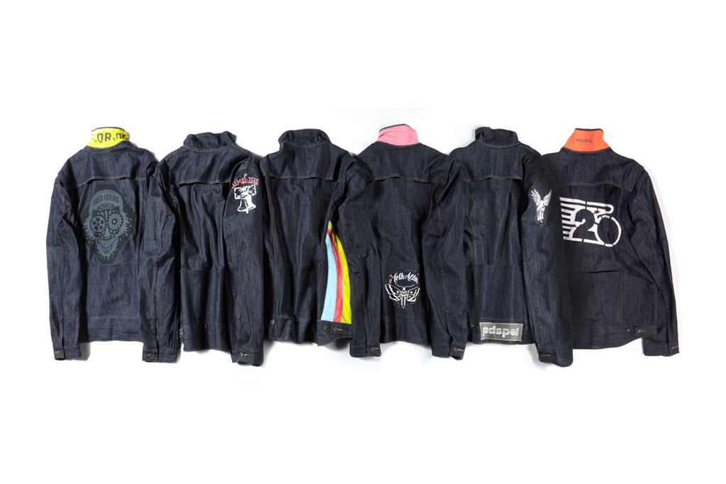 Levi's Bike Crews Custom Trucker Jackets