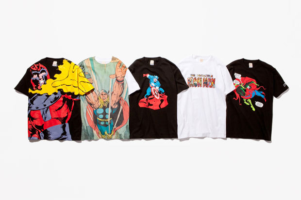 Marvel Maniacs Artist T-Shirt Collection