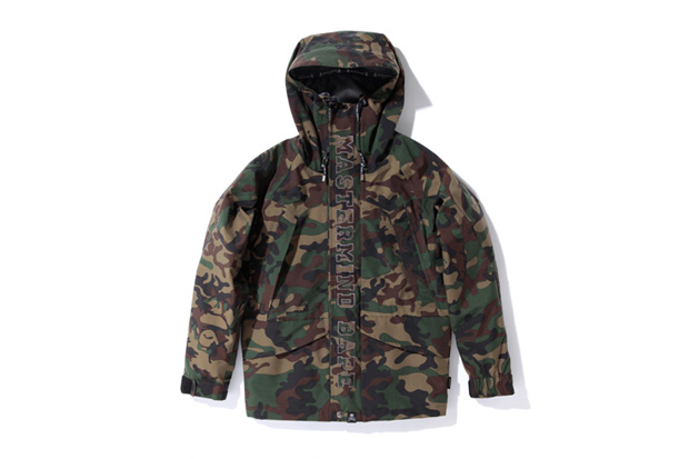 mastermind x bape gore tex snowboard jackets