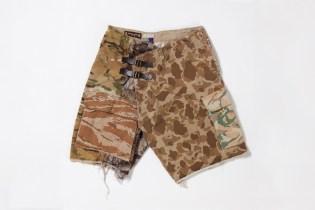 mastermind JAPAN x FACETASM 2011 Fall/Winter Camo Shorts