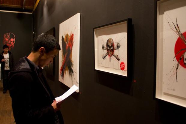 """MEGGS """"Inner Demons II"""" Exhibition Recap at Backwoods Gallery"""