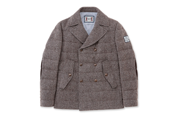 Moncler Gamme Bleu Pea Coat