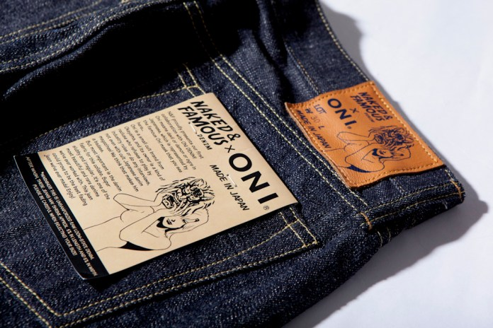 "Naked & Famous x ONI JAPAN ""Weird Guy"" Denim"