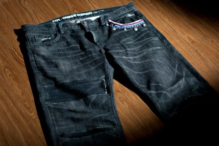 NEIGHBORHOOD 2011 Fall/Winter Beaded Savage Denim