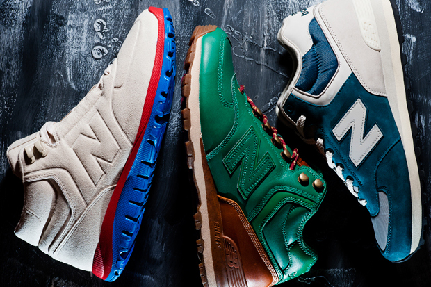 "New Balance 2011 ""Past, Present, Future"" 574 Pack"