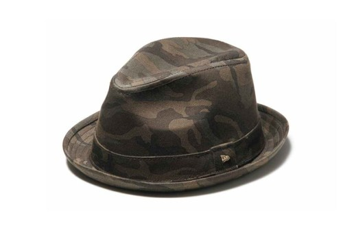"New Era EK Fedora ""Woodland Camo"""