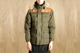Nigel Cabourn Men's Short Down Puffa