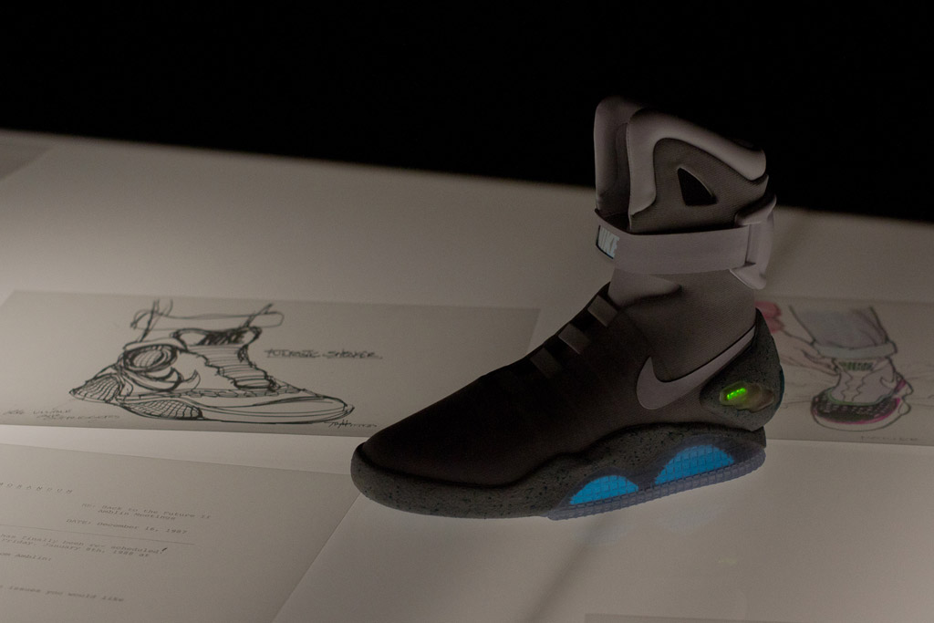 Nike MAG Sketches with Tinker Hatfield and Mark Parker