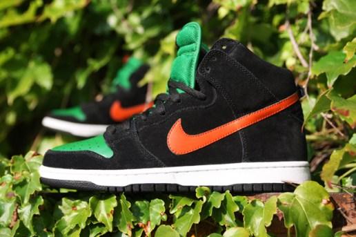 """Nike SB Dunk High """"Jägermeister"""""""