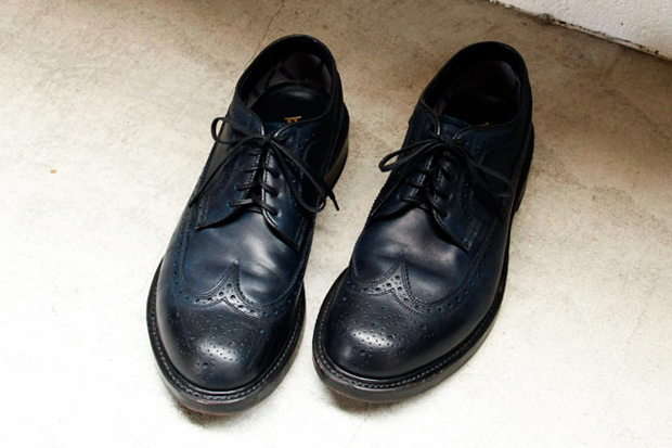 nonnative x REGAL GORE-TEX 2L OFFICER SHOES vendor NAGOYA Exclusive
