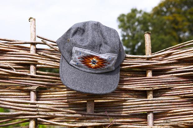 "OBEY ""Wool Navajo"" 5 Panel Cap"