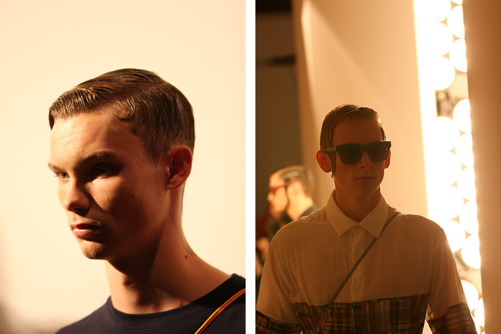 oki-ni: Christopher Shannon 2012 Spring/Summer Collection Preview & Interview