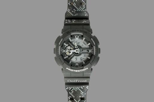 OntFront x Casio G-Shock GA-110C
