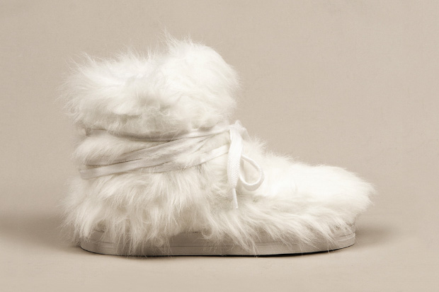 Terence Koh x Opening Ceremony x Forfex Furry Moon Boot