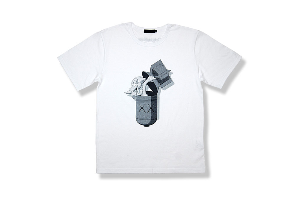 OriginalFake KAWS Pecker Bomb T-Shirt Online Exclusive