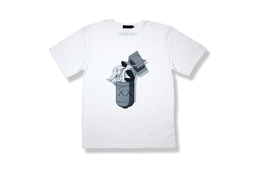 originalfake kaws pecker bomb t shirt online exclusive