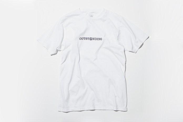 OUTSTANDING x uniform experiment Collaboration T-Shirts