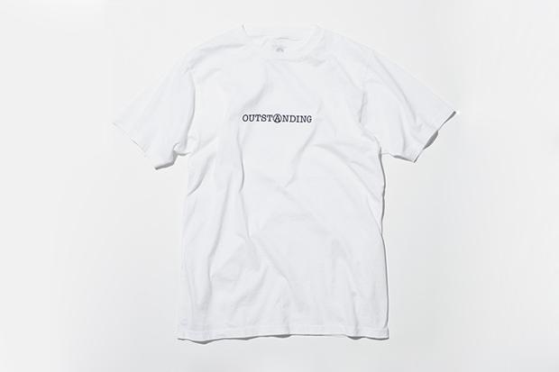 OUTSTANDING x uniform experiment Collaboration T-Shirts