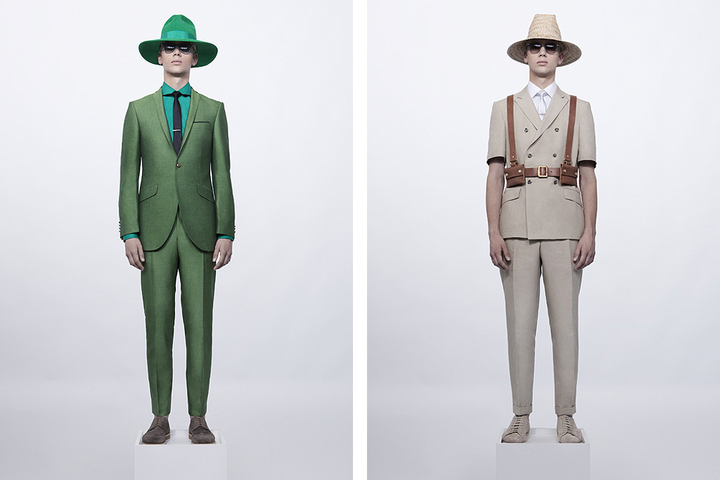 Ozwald Boateng 2012 Spring/Summer Preview