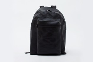 Patrik Ervell Deerskin Leather Backpack
