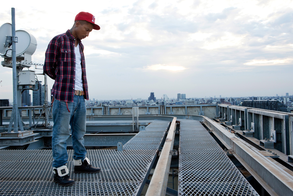 pharrell williams for palladium boots tokyo rising video series