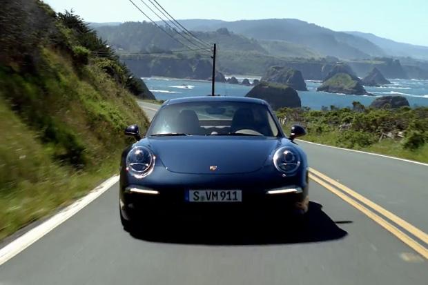 Frankfurt Motorshow: Porsche 911 in Motion
