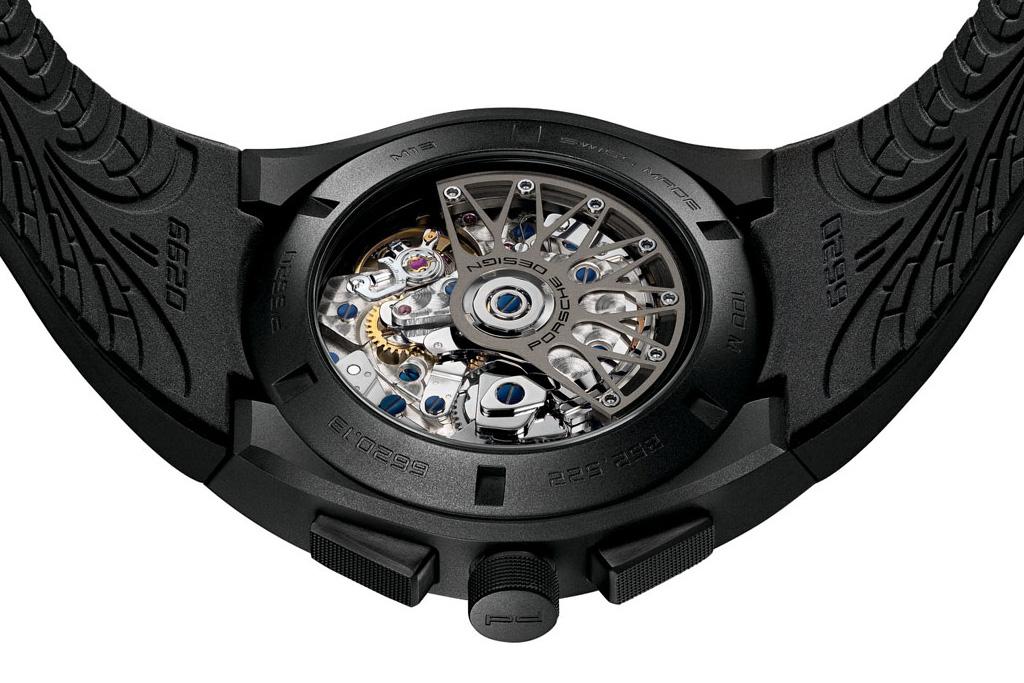 porsche design p6620 dashboard watch