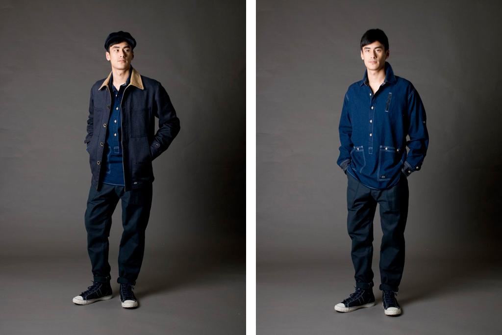 "Bleu de Paname 2011 Fall/Winter ""Excursionnisme"" Collection"