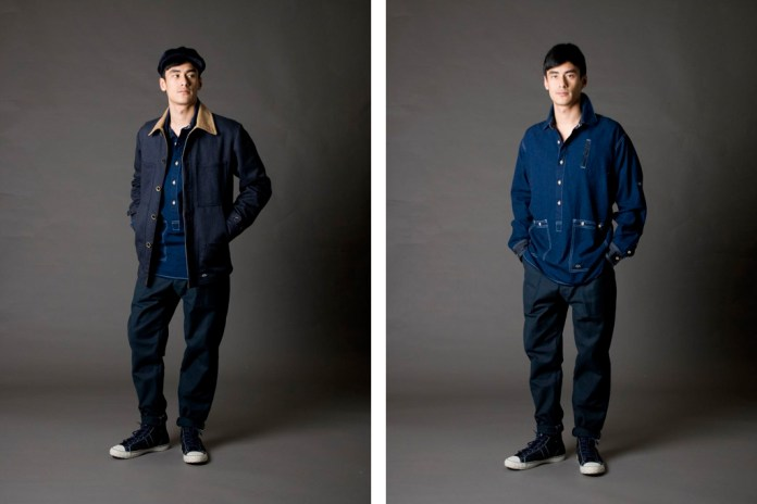 "Bleu de Paname 2011 Fall/Winter ""Excursionnisme"" Collection"
