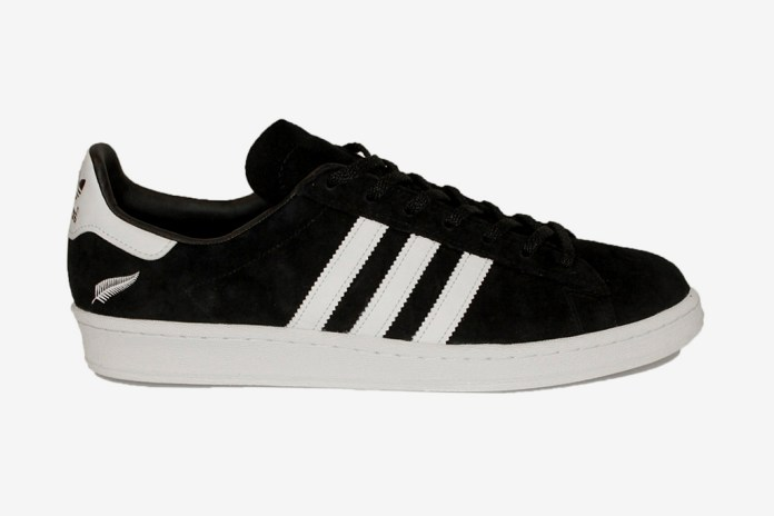 "Qubic Store x All Blacks x adidas Originals ""all heroes"" Campus 80's"