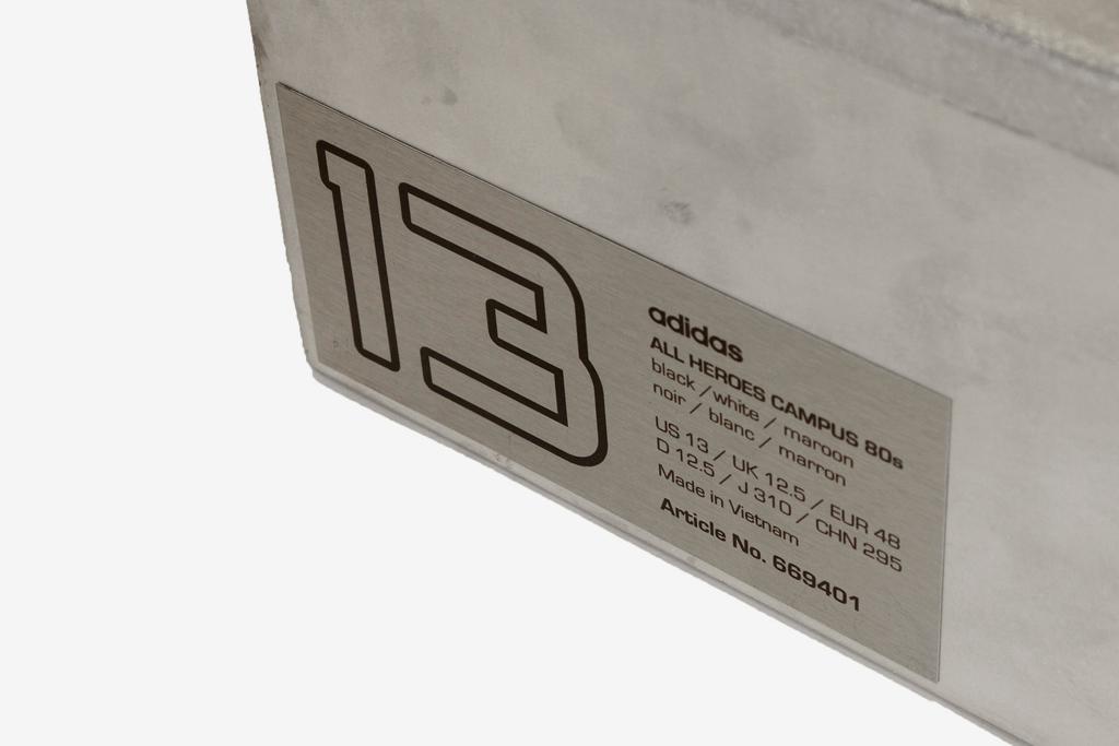 qubic store x all blacks x adidas originals all heroes campus 80s