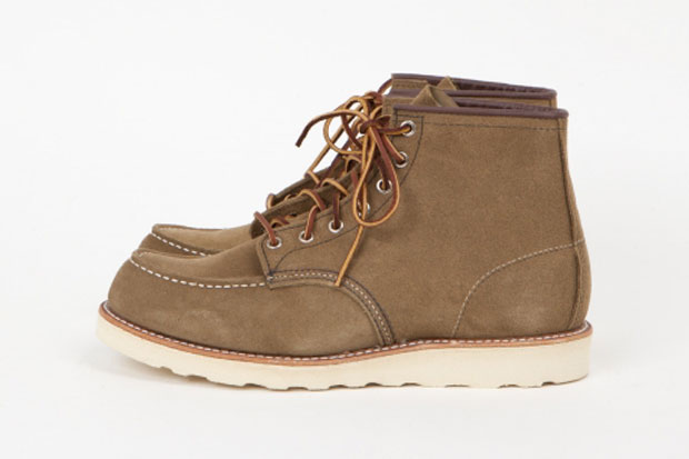 """Red Wing Shoes 6"""" Moc Olive Mohave Boots"""