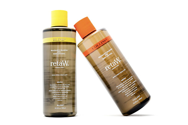 "retaW Fragrance Shampoo ""BLIND"" and ""COLLINS"""