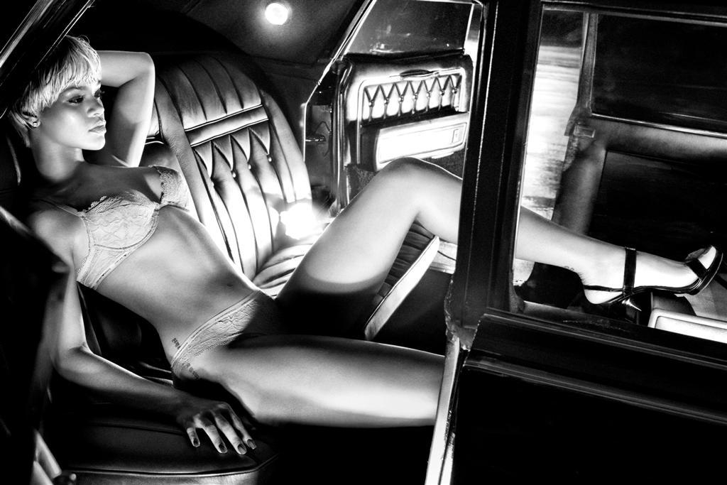 Rihanna for Emporio Armani 2011 Fall/Winter Campaign