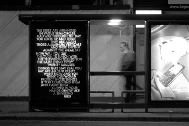 Robert Montgomery: Traveling Around The City