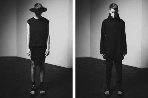 Samuel Mercure 2012 Spring/Summer Lookbook
