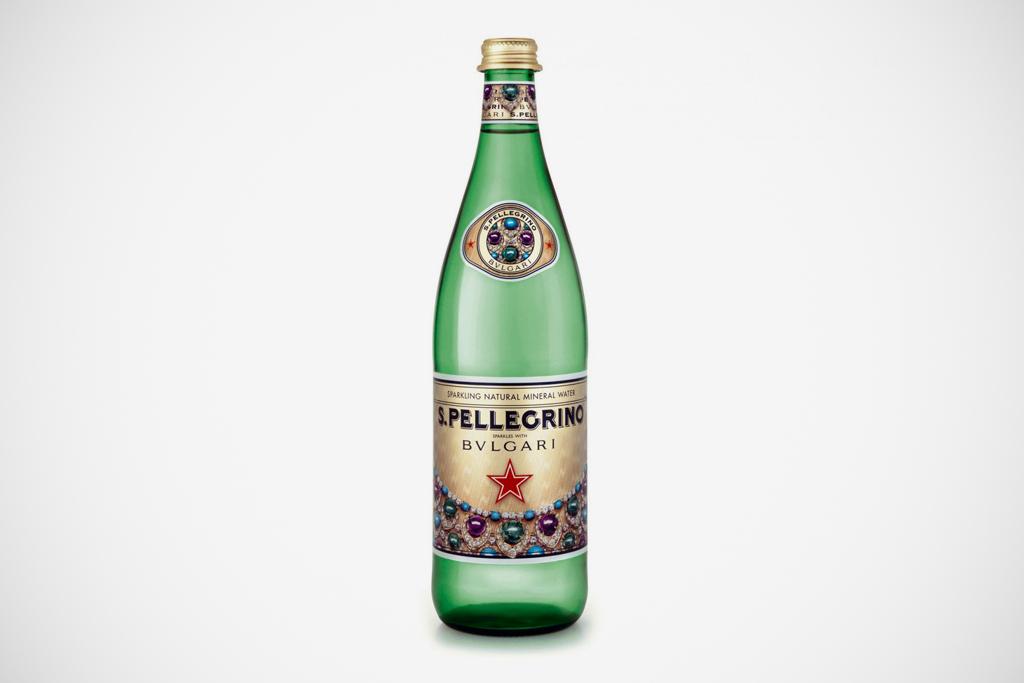 san pellegrino x bvlgari sparkling mineral water