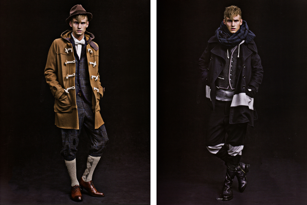 SENSE Magazine: MIHARAYASUHIRO 2011 Fall/Winter Editorial
